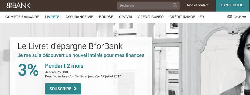 Livret Epargne BforBank